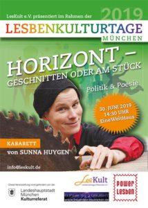 Sunna Huygen zu Besuch bei den Powerlesben in München